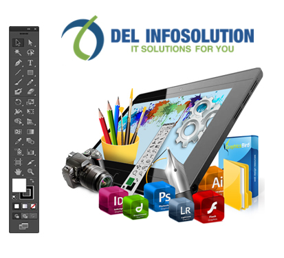 logo design del infosolution